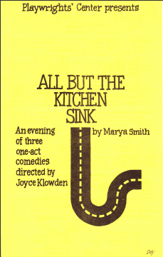 """All But the Kitchen Sink"" by Marya Smith"